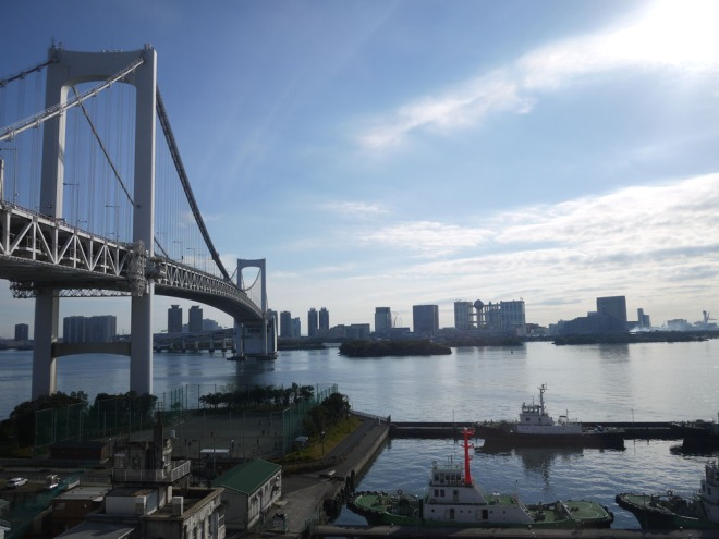 Rainbow Bridge over Tokyo Bay