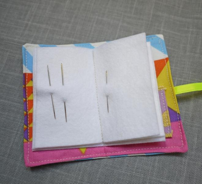 needle book, needle bed