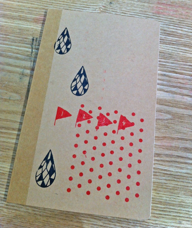 My decorated notebook from Muji