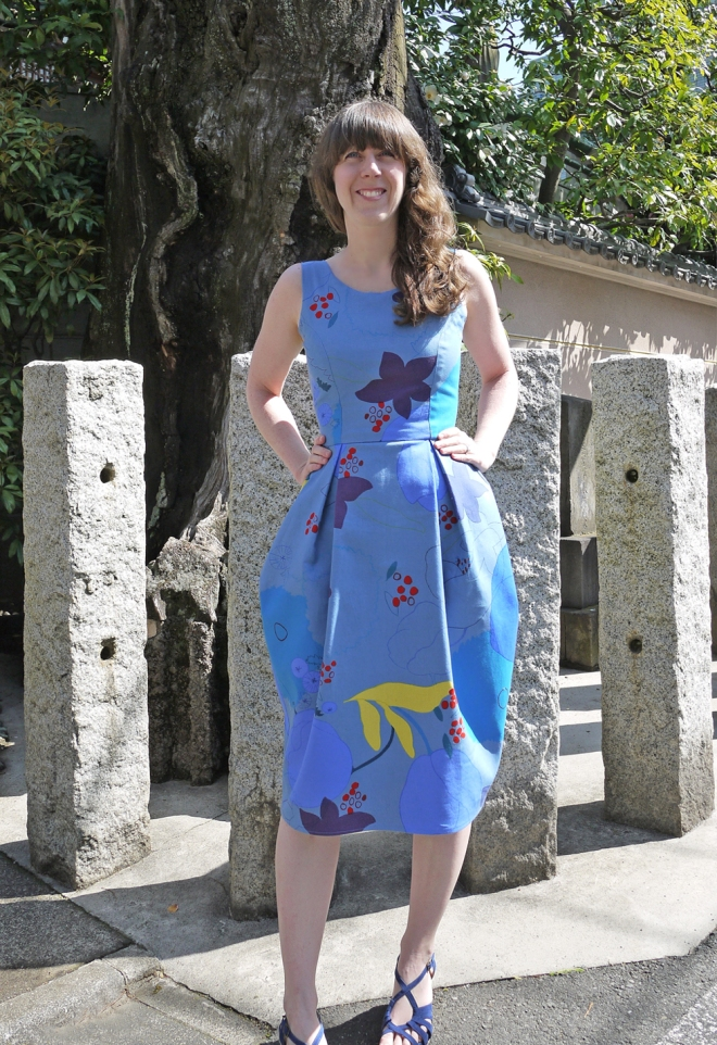 Elisalex dress in Nani Iro waltz