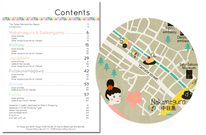 The Tokyo Craft Guide has amazing maps!