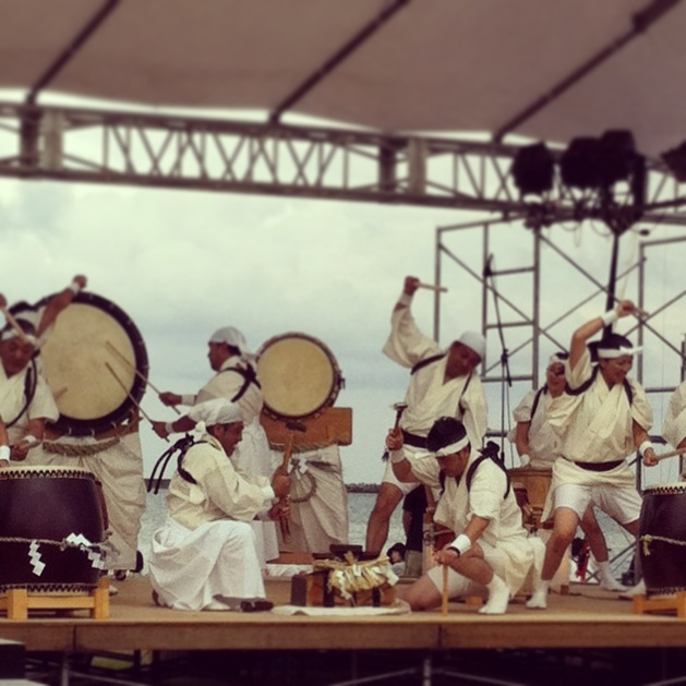 old men and the sea taiko performance