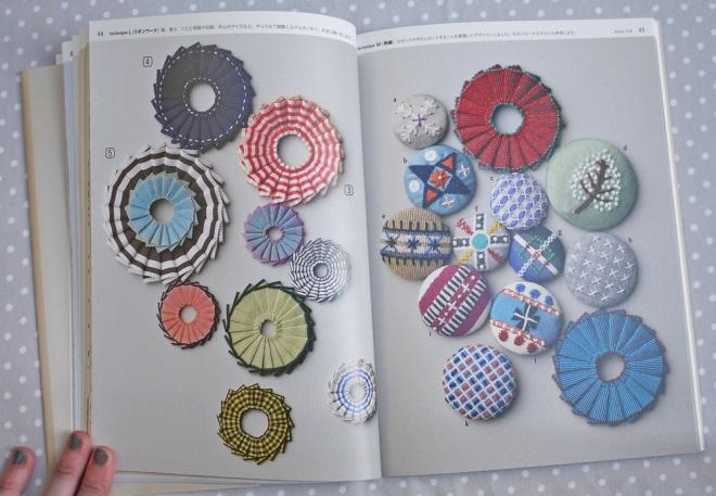 p44-45 下田直子の手芸技法 Handcraft Techniques by Naoko Shimoda