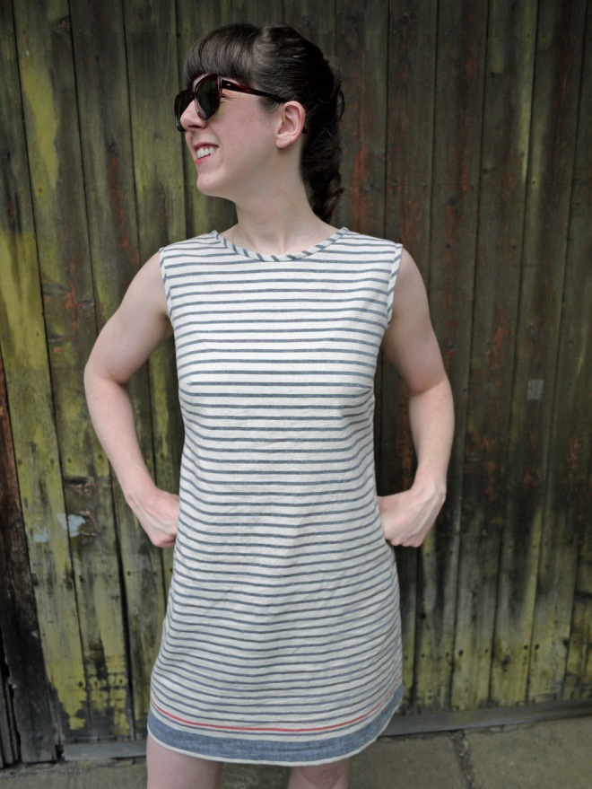 Shifty, a Colette Laurel shift dress by Saké Puppets