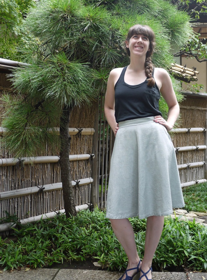 Hollyburn skirt for summer by Saké Puppets
