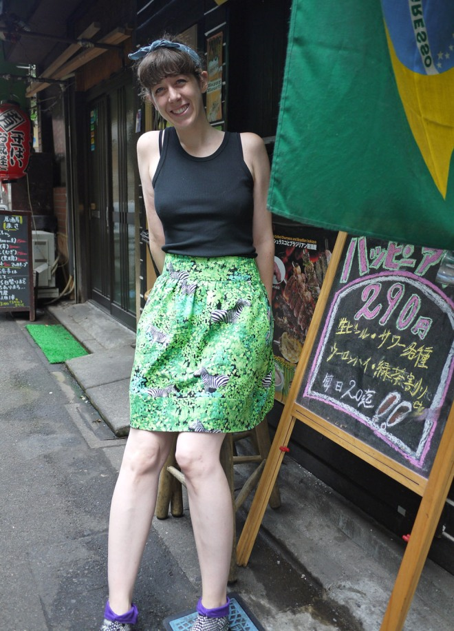 Summer play skirt by Saké Puppets