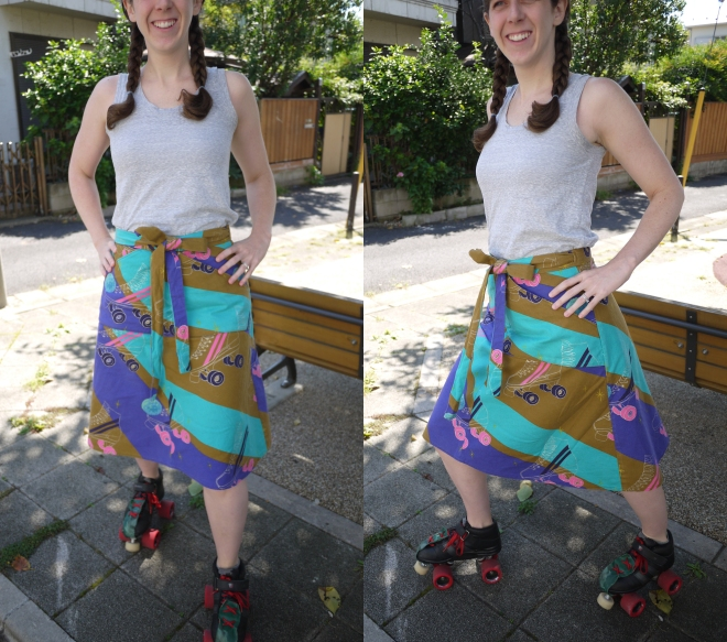 This skirt encourages wiggling