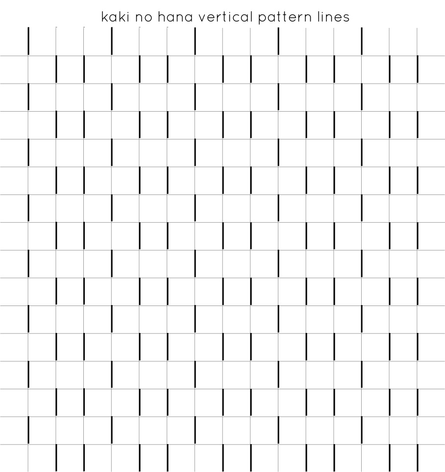 step 2: vertical lines