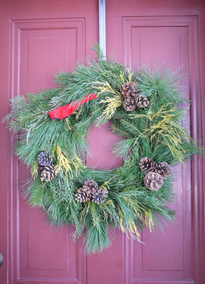 handmade holiday wreath