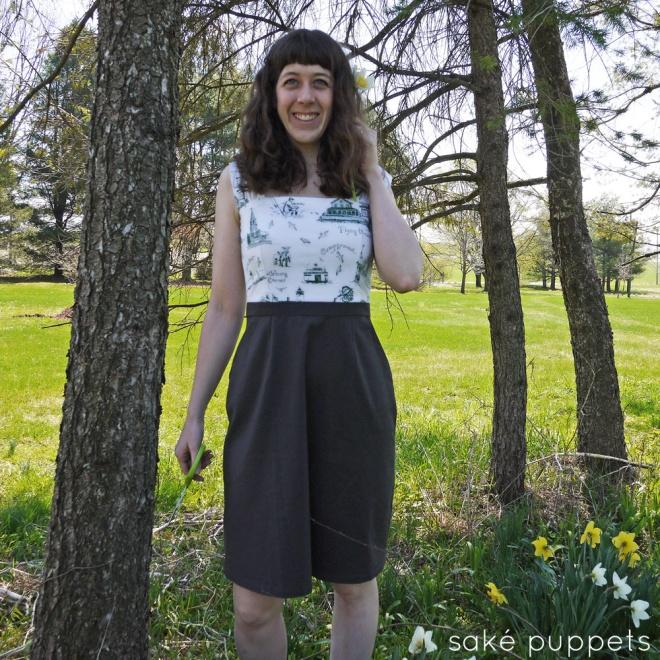 Practice Cambie dress by Saké Puppets, sakepuppets.com