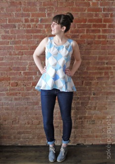 MIss Matatabi Make! Jubilee Peplum, March 2014