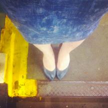 MeMadeMay wk1/3: Unblogged Charlotte skirt 1
