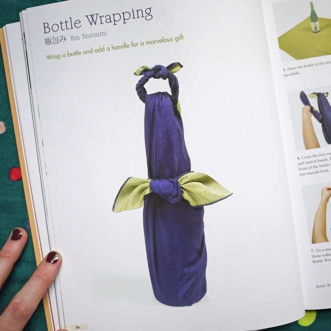 Wrapping with Fabric, Tuttle Publishing via SakéPuppets.com