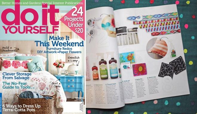 Saké Puppets in BHG DIY Mag!